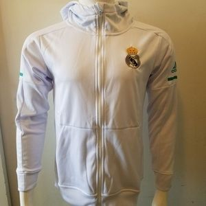 Other - REAL MADRID WHITE HOODIE